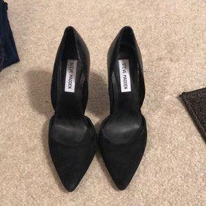 Black Steve Madden Stilettos
